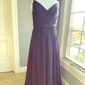 Sorella Vita Eggplant Bridesmaid Dress -
